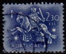 Portugal - #770 Equestrian Seal of King Diniz - Used