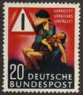 Germany #694 MNH road safety