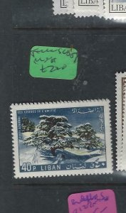 LEBANON   (P3101BB)  SKIING      SG  933-6      BL OF 4   MNH