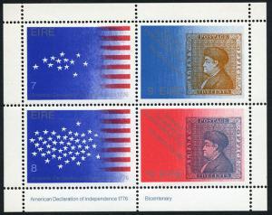 Ireland 392b MNH - American Bicentenial