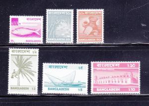 Bangladesh 48-49, 51, 53-55 MNH Various