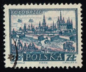 Poland #961 Kolobrzeg; Used (0.25)