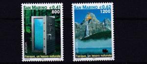 SAN MARINO      2001  EUROPA  WATER  RESOURCES      MNH