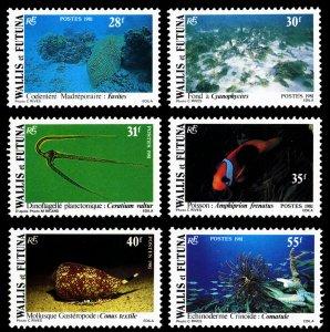 Wallis & Futuna Islands 1981 Scott #264-269 Mint Never Hinged