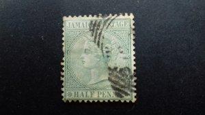 Jamaica 1885 -1886 Queen Victoria - New Colours Used