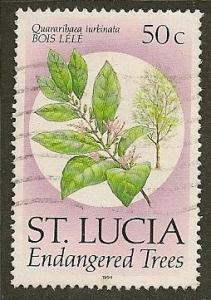 St. Lucia  Scott   957c   Tree     Used