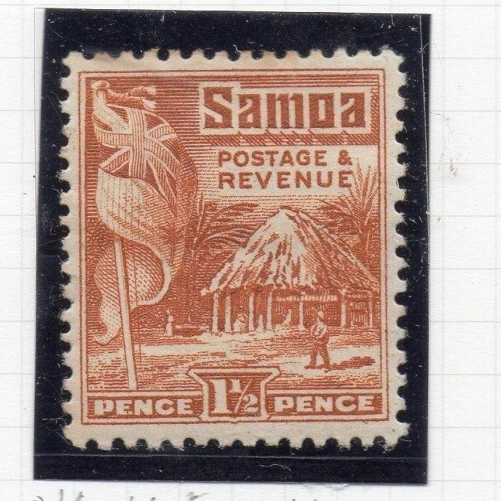 Samoa 1920s Early Issue Fine Mint Hinged 1.5d. 174669