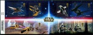 HERRICKSTAMP GREAT BRITAIN Sc.# 3926 Star Wars III Self-Adhesive S/S