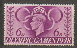 GB George VI  SG 497 Unmounted Mint