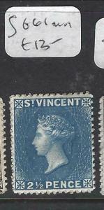ST VINCENT (P2805B)  QV    2 1/2D    SG 61    MOG