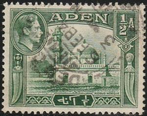 Aden, #16 Used From 1939-48