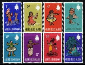 GILBERT & ELLICE ISLANDS QE II 1968 Pictorial Part Set SG 135 to SG 142 MINT