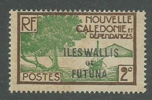 Wallis & Futuna Scott Catalog Number 44 Issued in 1930