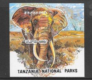 TANZANIA #1192   ELEPHANT   MNH
