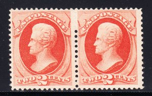 #183 F/VF OG Pair P.O. Fresh and NEVER HINGED!