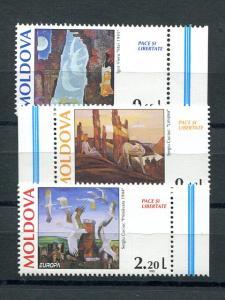 Moldova Europa 1995  set Mint VF NH