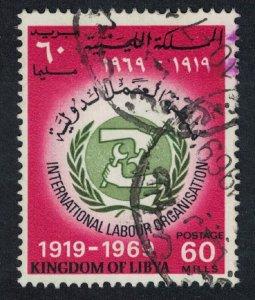 Libya 50th Anniversary of ILO canc SG#441