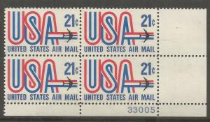 US C81, MNH, PB, US AIR MAIL