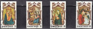 TOGO SC# 860,861,C210,C211 CTO CHRISTMAS 1973  SEE SCAN