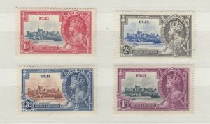 Fiji KGV 1935 Silver Jubilee Set SG242/245 MLH JK840