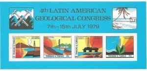 Trinidad & Tobago #311a Geological  S/S (MLH) CV $2.50