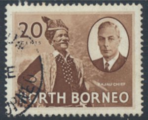 North Borneo  SG 364 SC# 252 Used   see scans and details