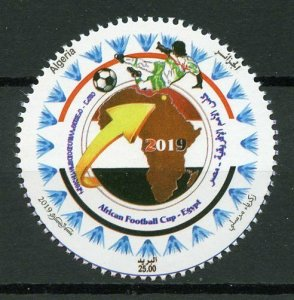 Algeria 2019 MNH African Nations Cup Football Egypt 1v Set Soccer Sports Stamps
