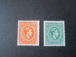 Jamaica 1951 Sc 148-9 set MNH