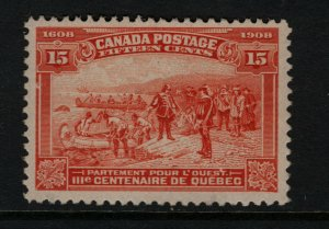 Canada #102 Very Fine Never Hinged