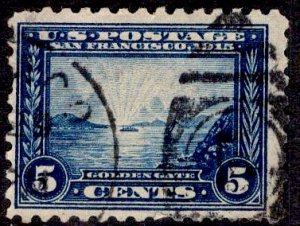 US Stamp #403 USED SCV $17.50
