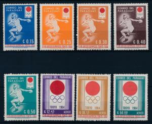[63012] Paraguay 1964 Olympic Games Tokyo Athletics  MNH