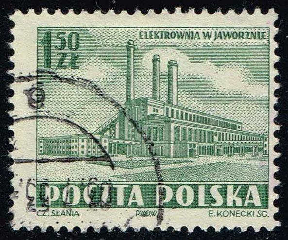 Poland #554 Power Plant; Used (0.25)