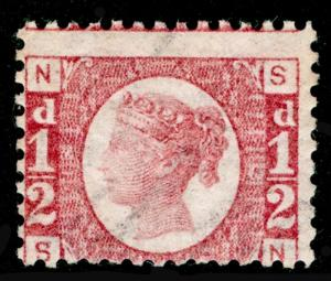 SG48, ½d rose-red PLATE 13, NH MINT. Cat £120. SN