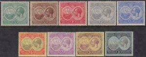 Bermuda 1920-1921 SC 55-60, 67-69 MLH Set