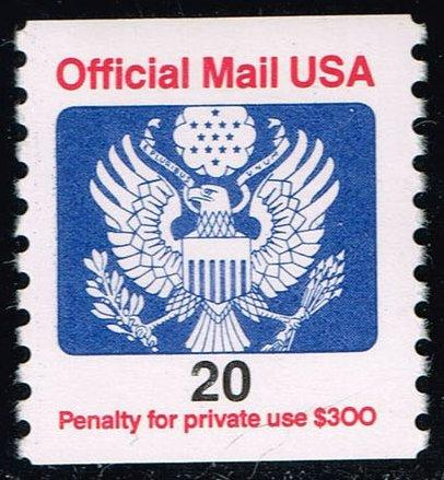 US #O138B Official Mail; MNH (0.50)