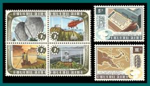 Papua New Guinea 1973 Telecommunications, MNH  359-364,SG231-SG236