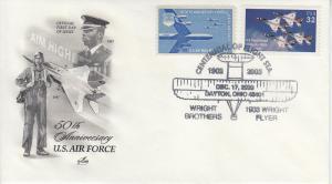 2003 First Powered Flight Dayton OH USAF Artcraft