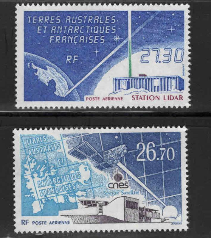 FSAT Scott C130-C131 MNH** 1994 Satellite, LIDAR station set  CV$24