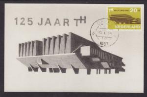 Netherlands Sc 443 FDC 1967 20c Assembly Hall