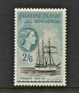 STAMP STATION PERTH -Falkland Is.Dep.#1L30 Definitive MNH OG VF