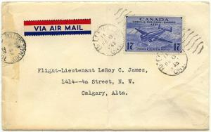 Canada - 1945 17c Air Special Delivery Cover #CE2
