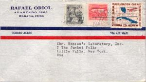 Cuba 1c Mother and Child and 1c Proposed Communications Building Postal Tax, ...