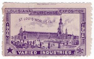 (I.B) US Cinderella : Louisiana Purchase Exposition (Varied Industries)