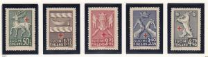 Finland B49-53 mint