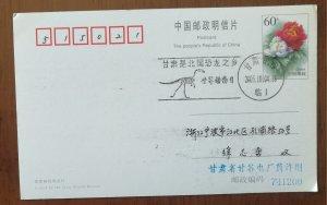 Fossil,Gansu Township of Dinosaur,CN 05 world animal day illustrated PMK