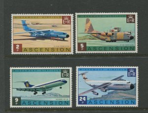 STAMP STATION PERTH Ascension Is.#185-188 General Issue 1975 MNH