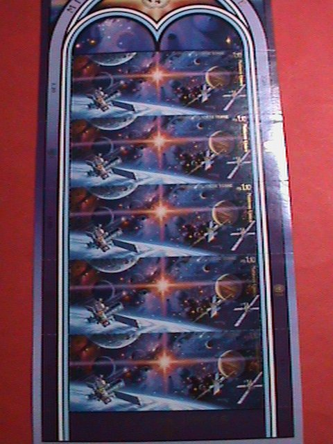 UNITED NATION STAMP: 1992 SC#221a MASSION TO PLANET EARTH FULL SHEET MNH GENEVA
