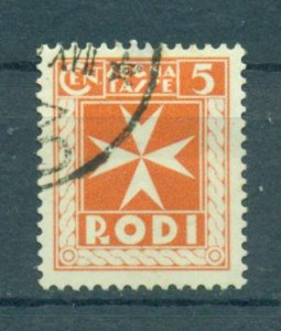 Rhodes sc# J1 used (small thin) cat value $8.00