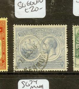 BERMUDA (P0710B) KGV 2 1/2D  SG66  VFU