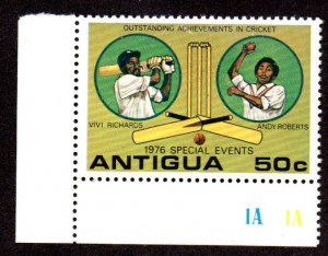 ANTIGUA 456 MNH SCV $3.50 BIN $2.10 SPORTS